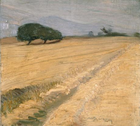 Λύτρας Νίκος (1883 - 1927) Χωράφι με στάχυα, 1920, Εθνικη Πινακοθηκη