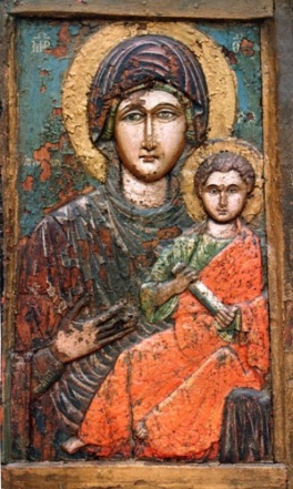 Παναγία η Τρυφώτισσα, από την Αίνο της Ανατολικής Θράκης (Μητροπολιτικός Ναός Αγίου Νικολάου Αλεξανδρούπολης).